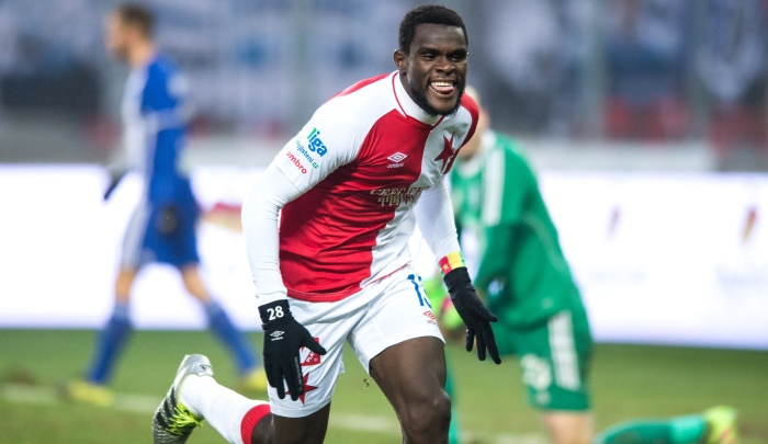 Europa league : Michael Ngadeu buteur avec le Slavia Prague