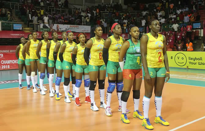 Volleyball : La sélection senior dames reprend service