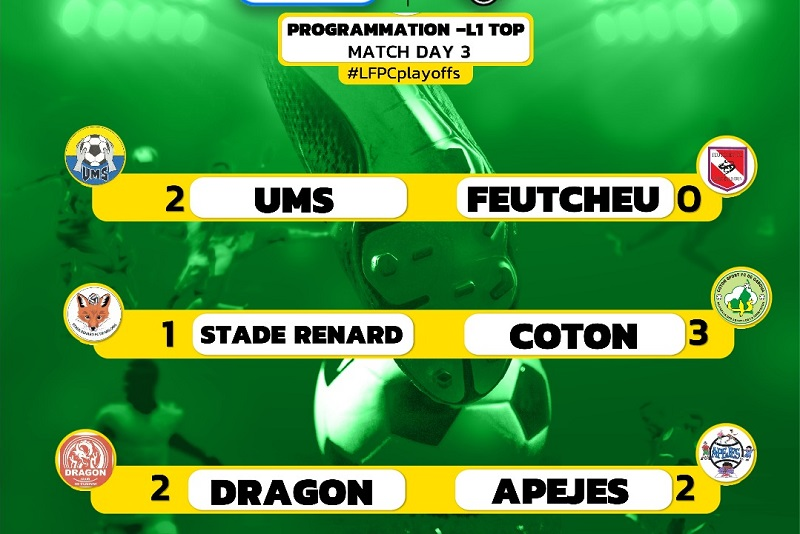 Plays off LFPC : Les leaders se dessinent