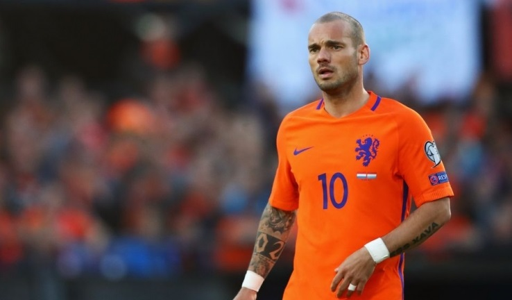 Pays-Bas : Sneijder raccroche les crampons