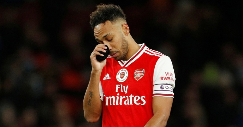Premier League : Pierre-Emerick Aubameyang écope de trois matches de suspension