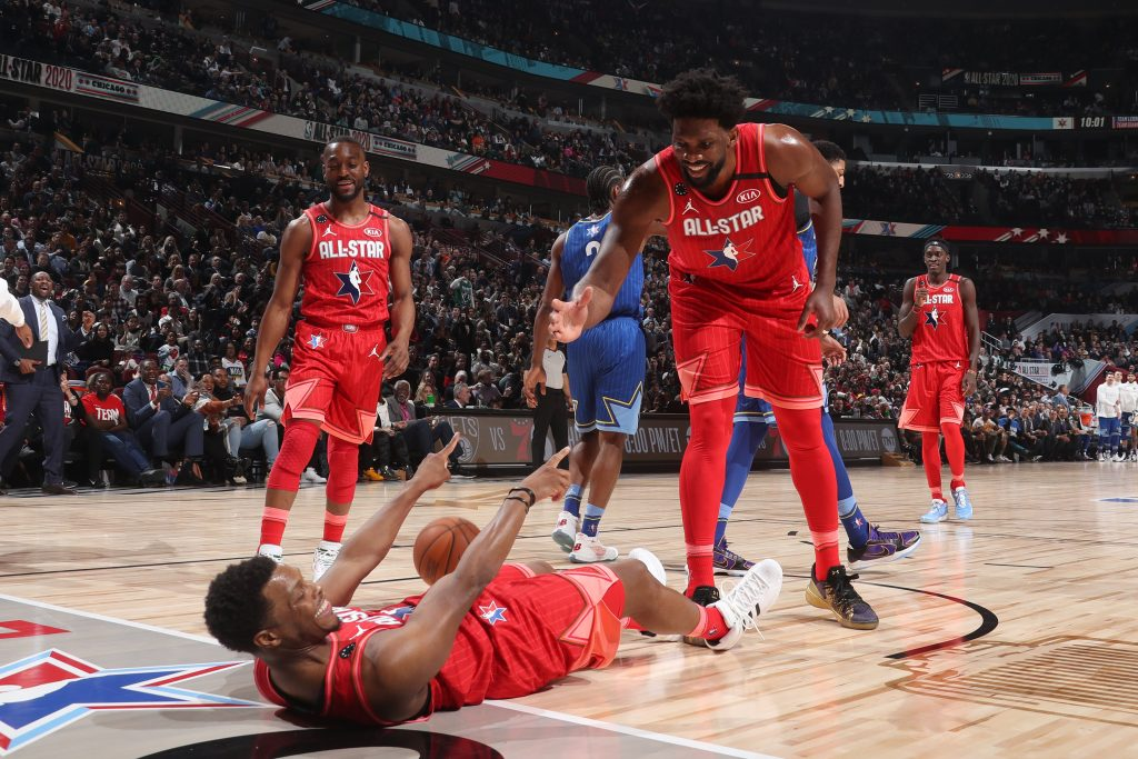 All star game : Joel Embiid et Pascal Siakam limités face à la Team LeBron