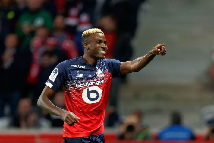 Mercato: Lille n'a pas l'intention de vendre Osimhen
