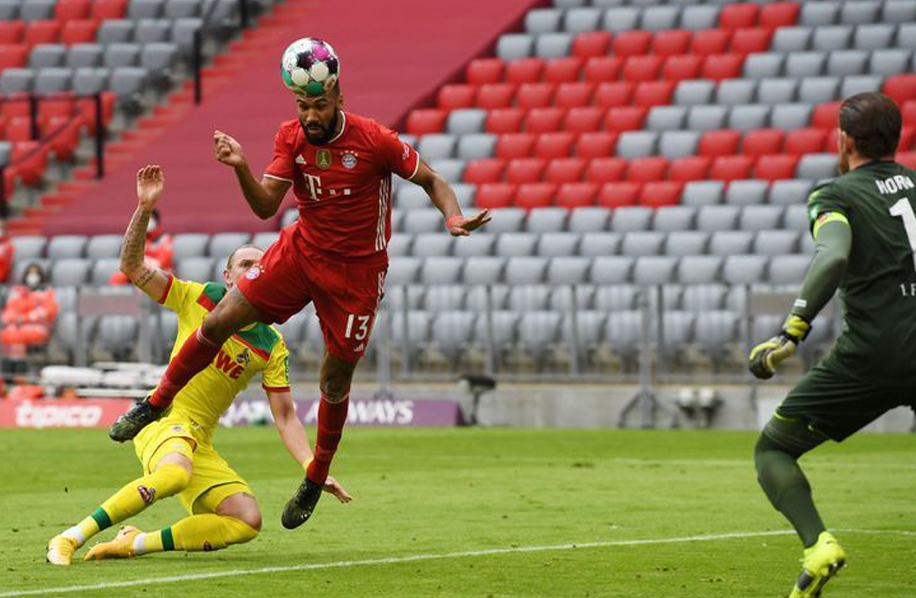Bayern Munich-Cologne : le Camerounais Chouppo-Moting inscrit son premier but en Bundesliga