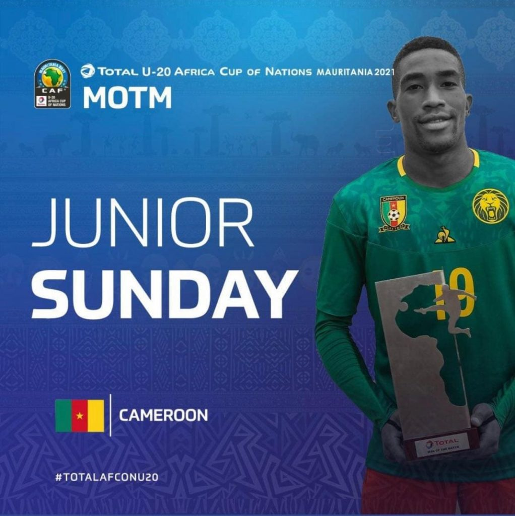 Junior Sunday Jang: Constant, déterminé, décisif