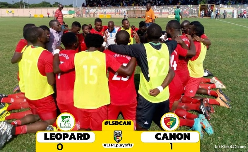 Playoffs Cameroun Ligue 2 : La bonne affaire du Canon sportif de Yaoundé