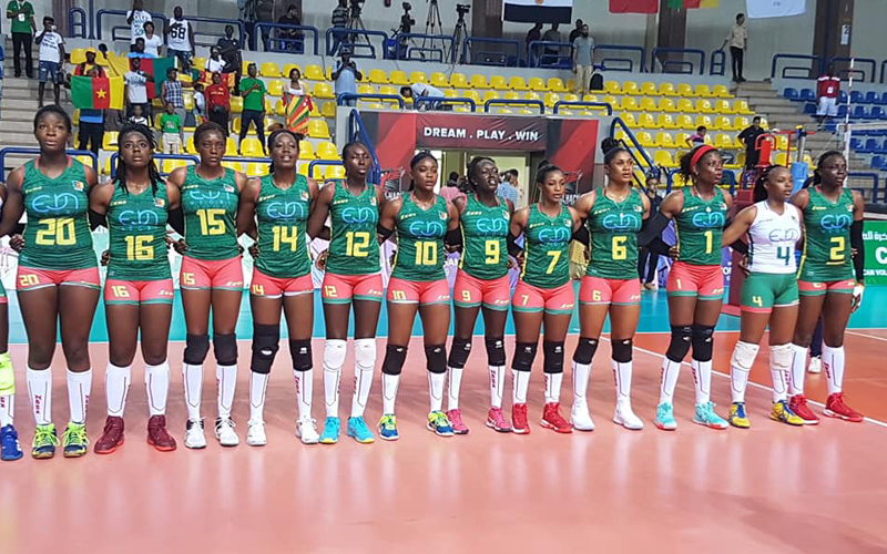 CAN Volleyball Dames 2019 : Le Cameroun se qualifie pour les demi-finales
