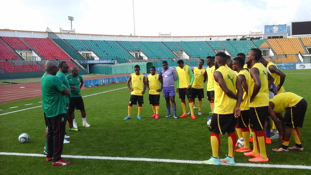 Lions Indomptables : Les Lions  A' sans team manager