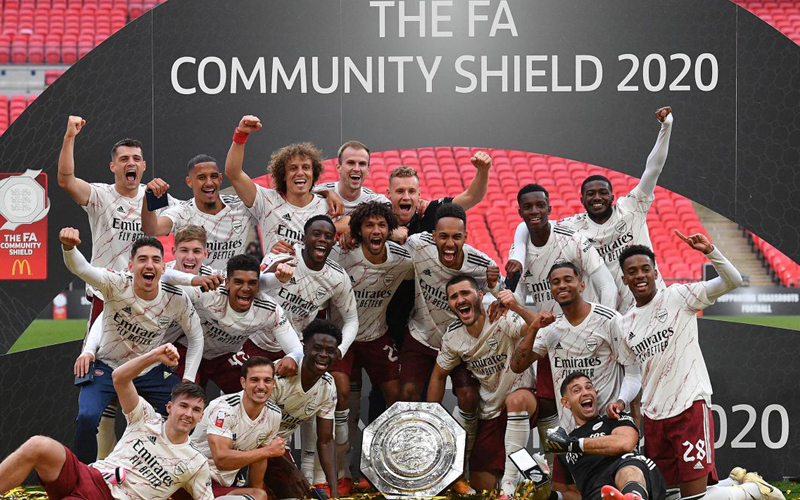 Community Shield : Arsenal remporte face à Liverpool son premier titre de la saison au bout du suspens